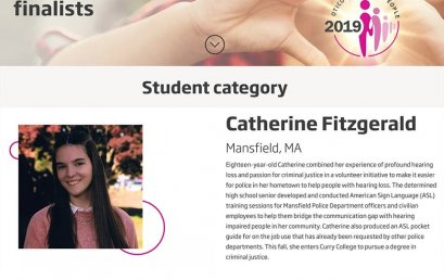 Graduate from Mansfield is a 2019 Focus on People Awards Finalist!