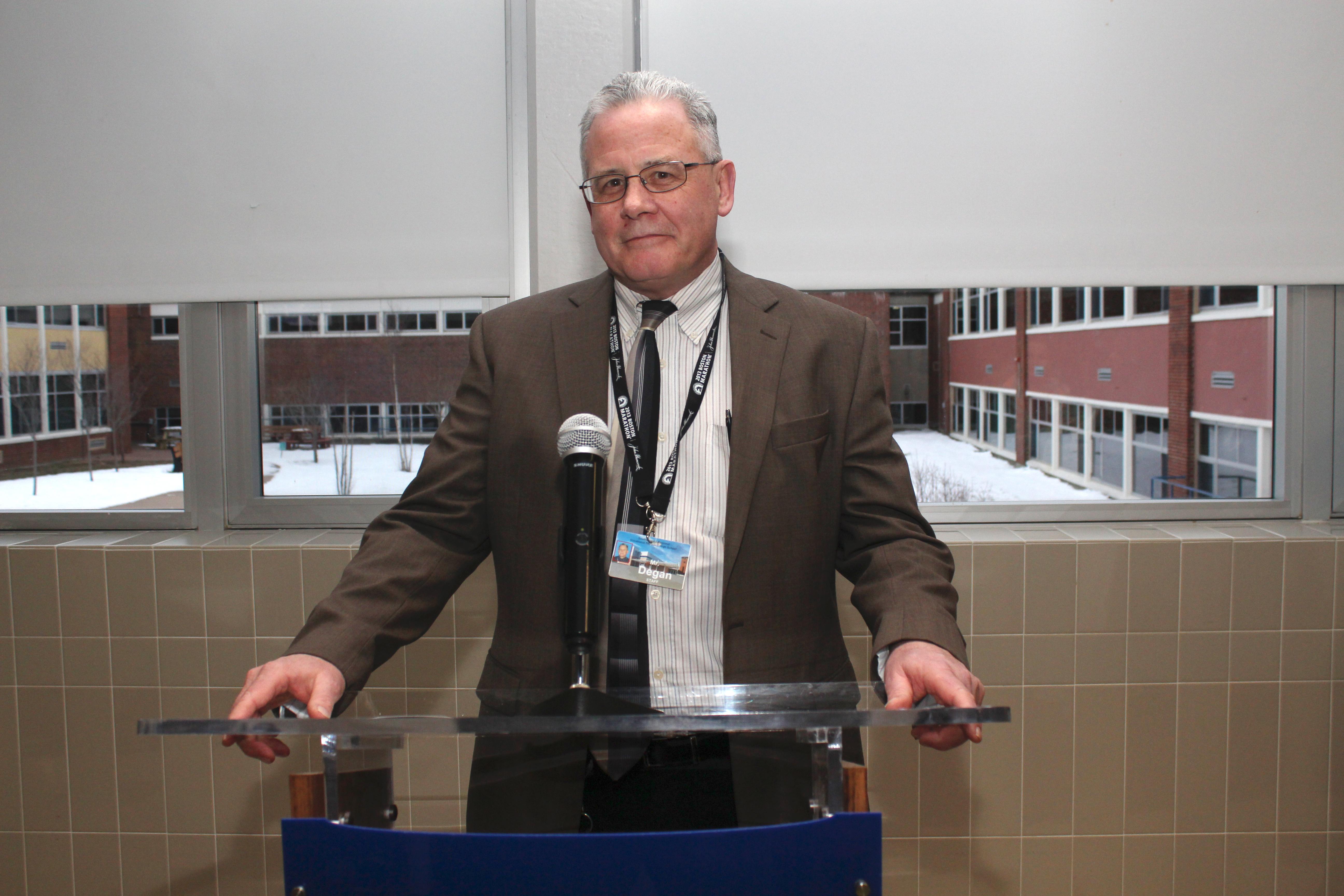 Principal's Reception – Interview with Principal Degan