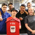 Southeastern Partners with Norton Fire Department in Restoration of Fire Alarm Call Boxes
