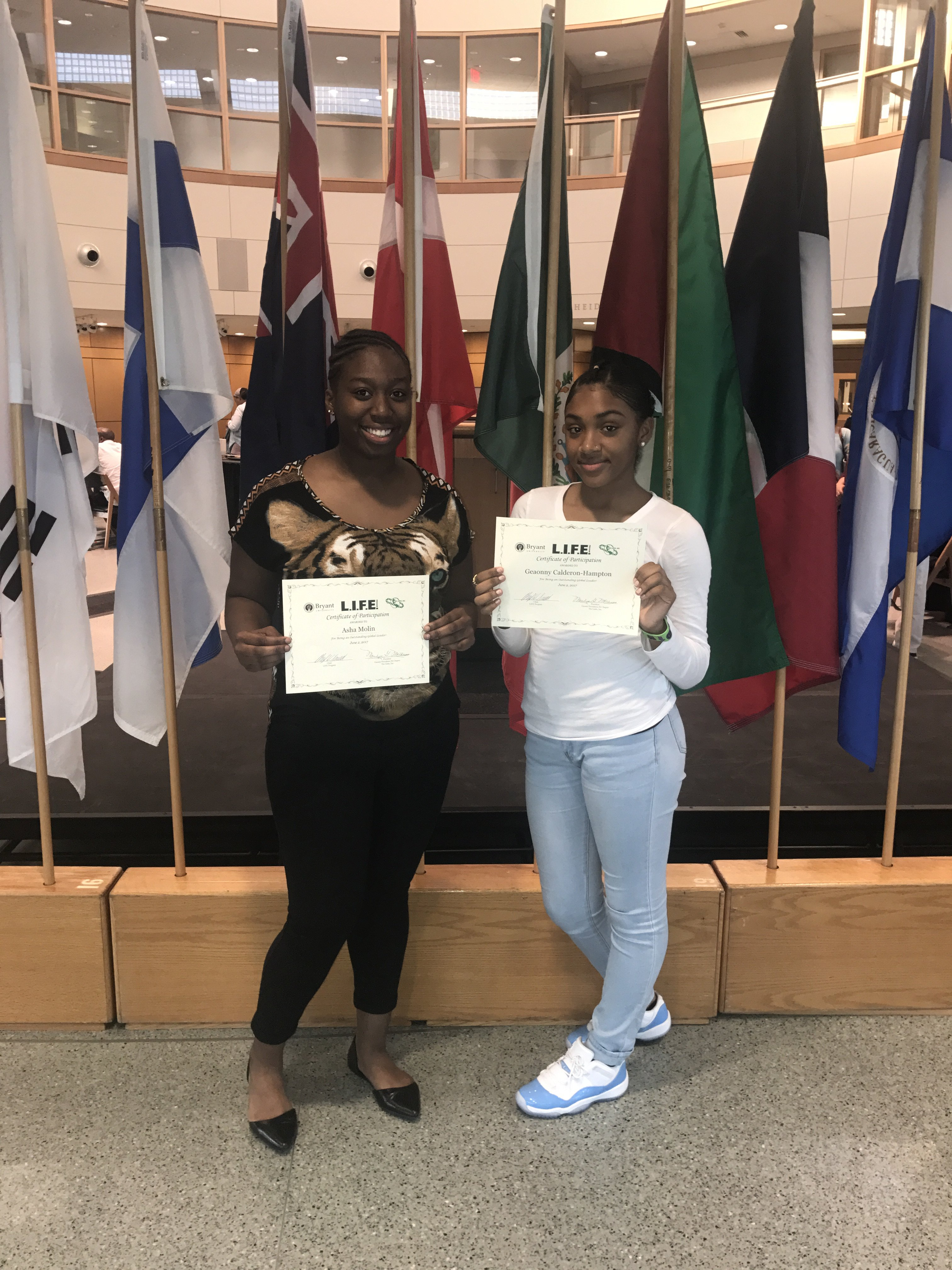 Southeastern Students Participate in International Business Conference at Bryant University