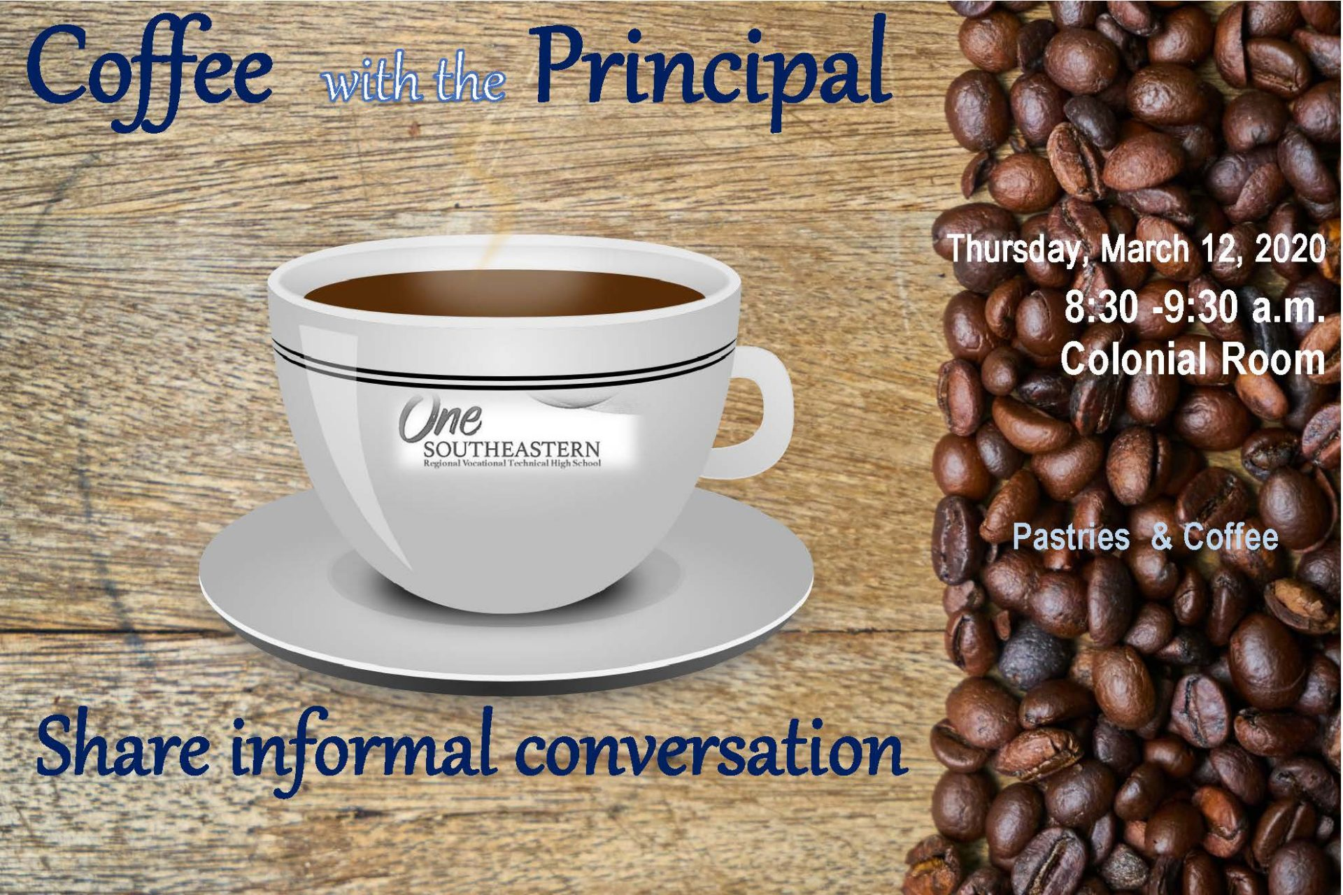 Parent Coffee with the Principal