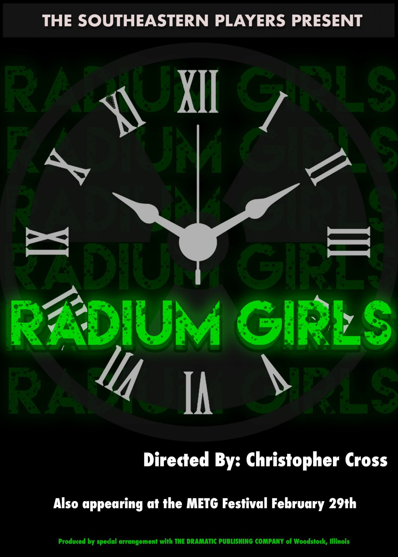 RADIUM GIRLS and Arts Appreciation Night