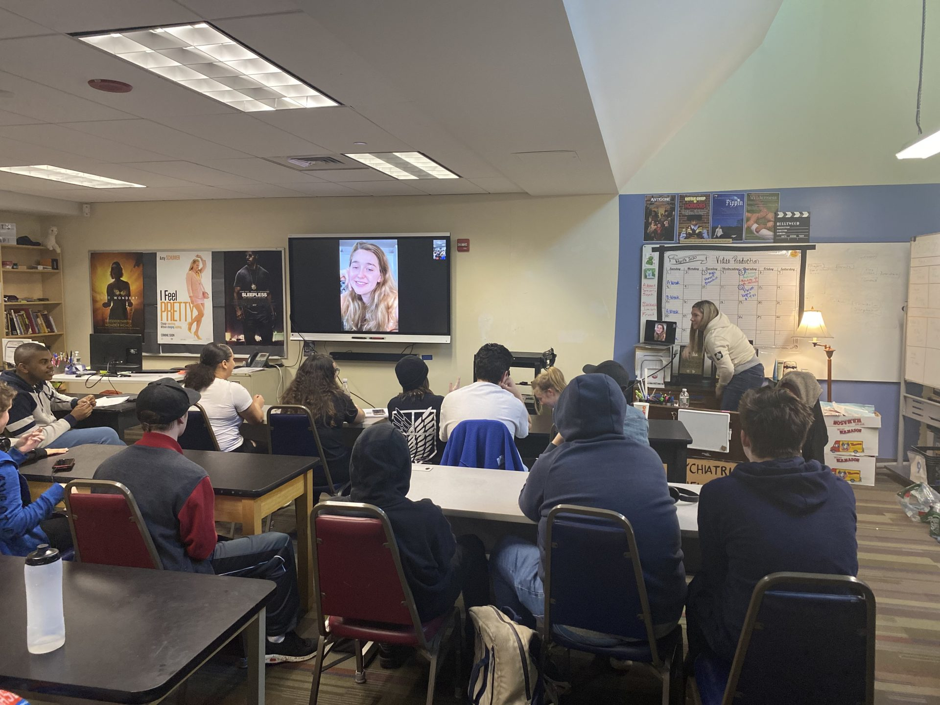 "Video Production skypes with actress from ""Mother's Day"" (2016) Jessi Case"