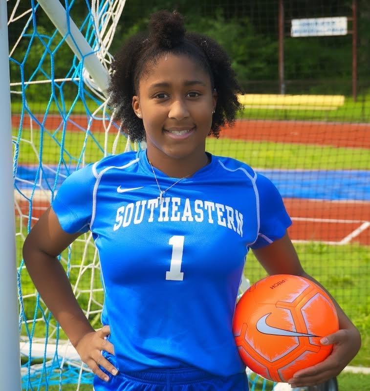 Senior Soccer Star, Maya Hayes, accepts Division 2 Scholarship!