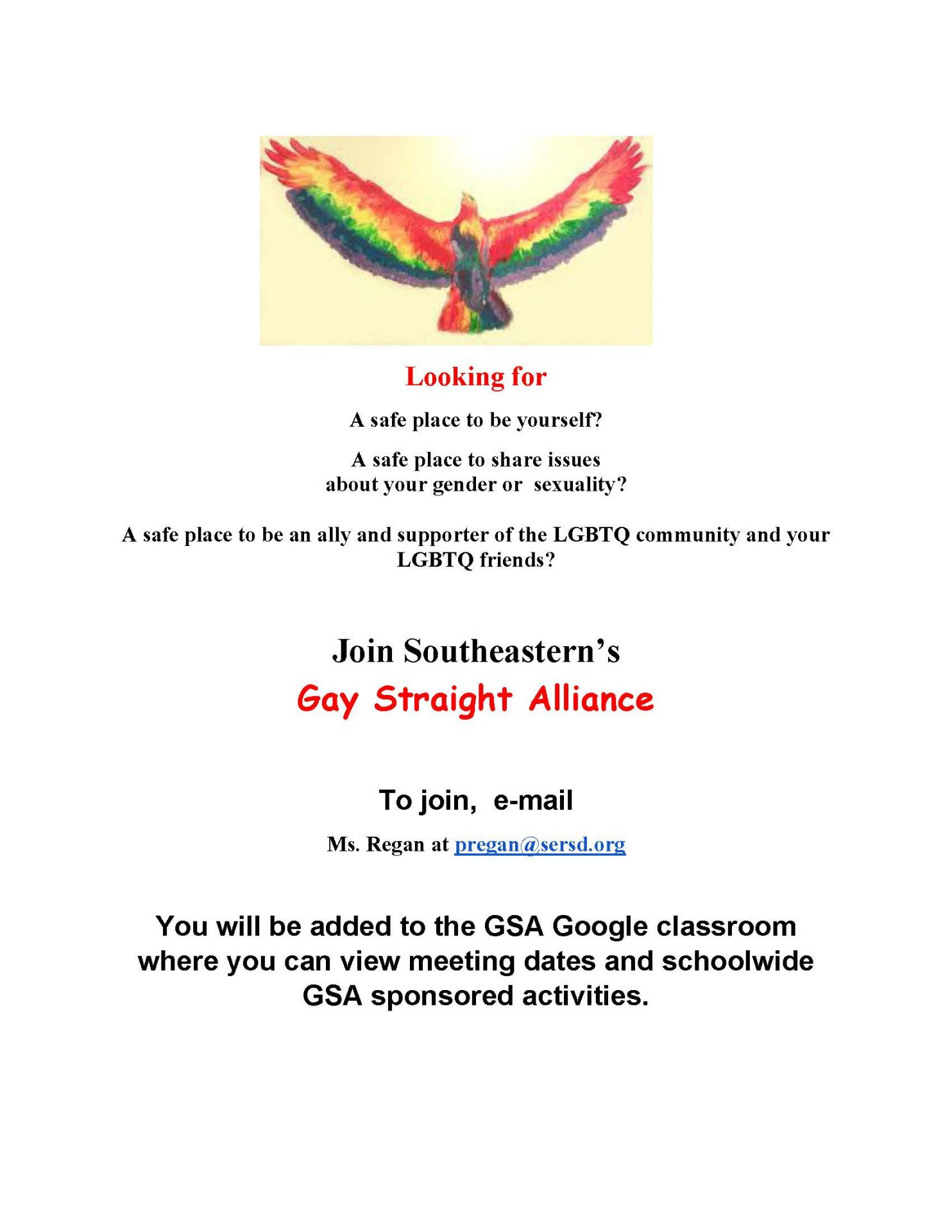 GSA Invitation