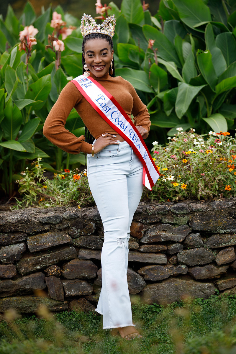 A SOUTHEASTERN ALUMNA NAMED MISS EAST COAST USA