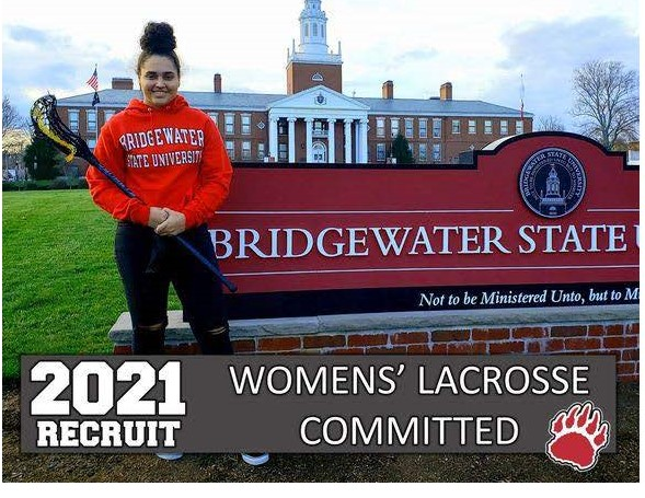 SOUTHEASTERN ATHLETE COMMITTED TO PLAY LACROSSE FOR BRIDGEWATER STATE UNIVERSITY