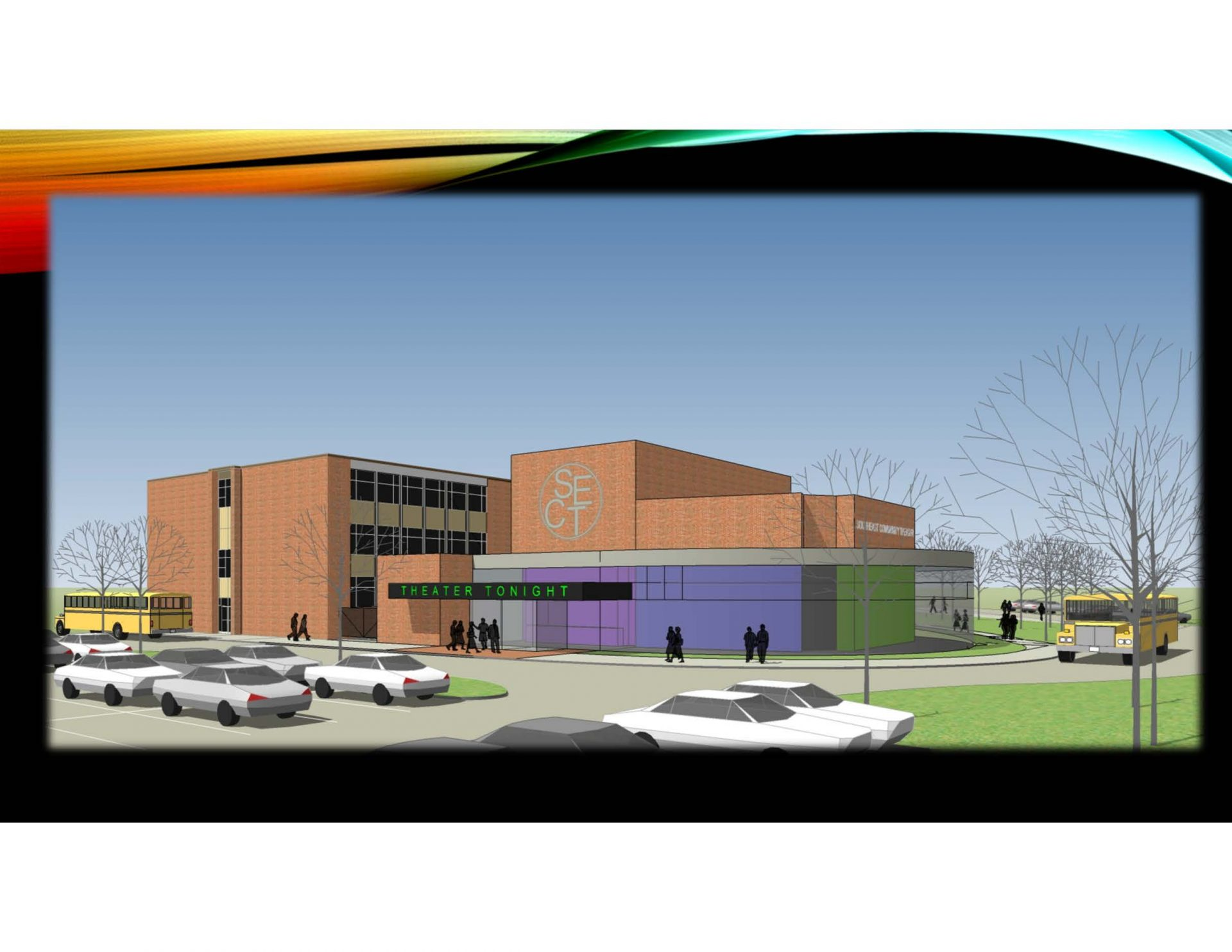 CALLING ALL ARTISTS:  SOUTHEASTERN IS CURRENTLY CONSTRUCTING A NEW PERFORMING ARTS CENTER!